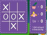 Ben and Holly Tic Tac Toe