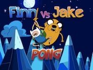 Finn vs Jake Pong