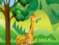 Giraffes Dice Race