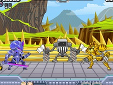 LBX Robo Final Duel Fight