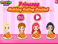 Princess Hot Dogs Eating Contest