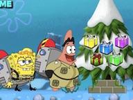 Spongebob and Patrick Christmas