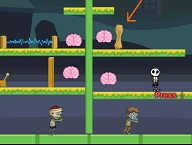 Zombie Bros Find Brain