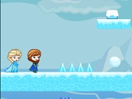 Elsa Anna Save Olaf