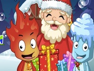 Fireboy and Watergirl Christmas Adventure