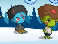 Zombie Bros in Frozen  World